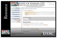 State of Kansas GIS website
