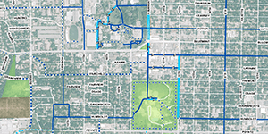 Park and Trail Map
