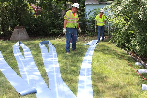 Cured-in-place pipe sanitary sewer liner
