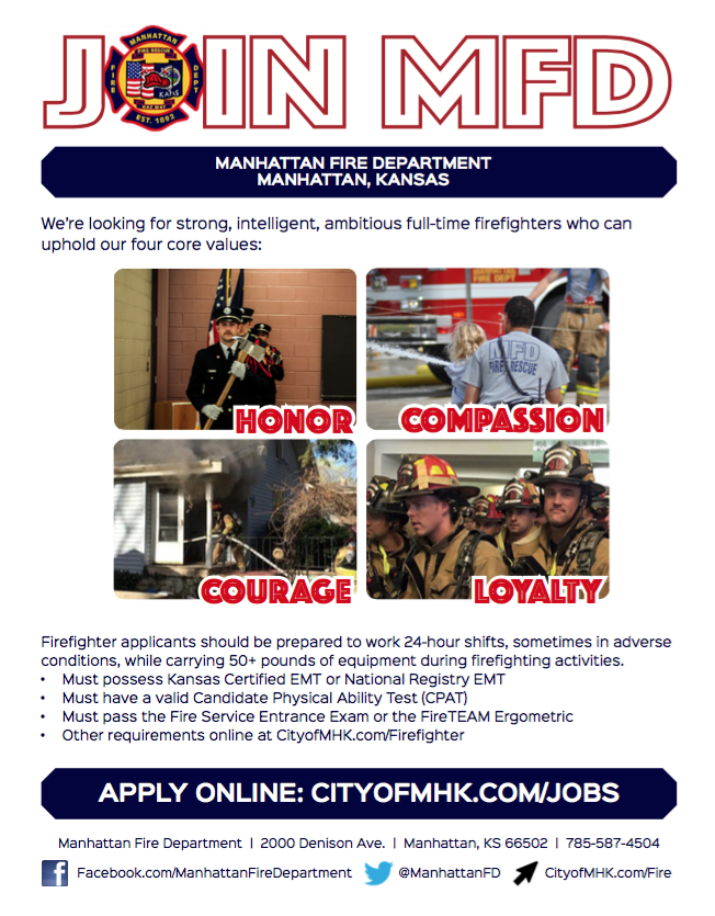 Hiring for Full-Time Firefighters