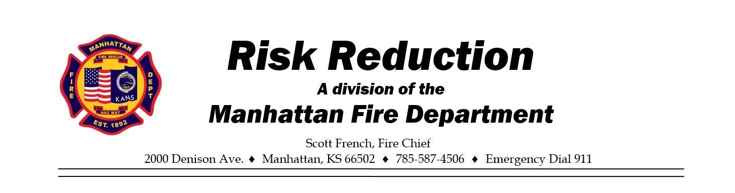 MFD Risk Reduction Letterhead