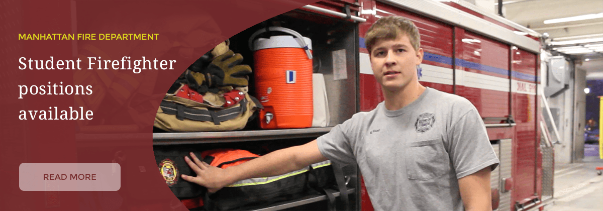 Student Firefighter positions available