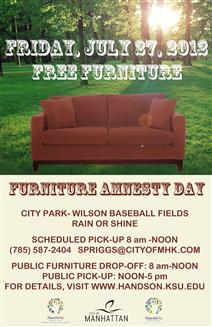 Furniture Amnesty Day 2012